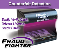 UV Counterfeit detection