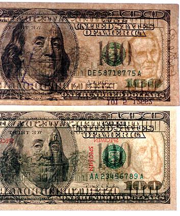 bleached money
