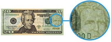 detect counterfeit money