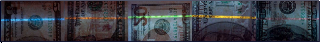 UV Security Features on US Dollars