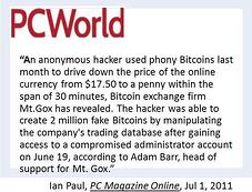 Counterfeit Bitcoins Quote