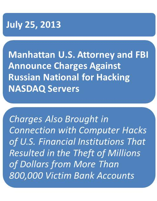 NASDAQ Hack Headline