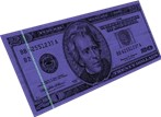 UV currency detection