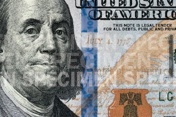 3-d security ribbon on the 2013-present issue of the 100 dollar bill