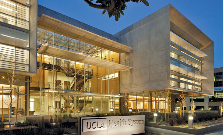 UCLA Health Systems Building in Santa Monica